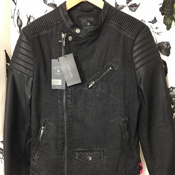 786ae1c6 Zara man denim jacket NWT
